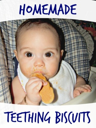 teething biscuit recipe