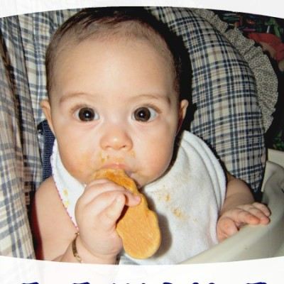 Homemade Teething Biscuits for Baby