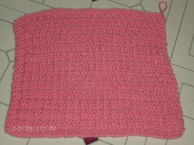 Knitted Washcloth