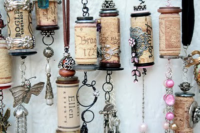 Upcycled Wine Cork Ornaments