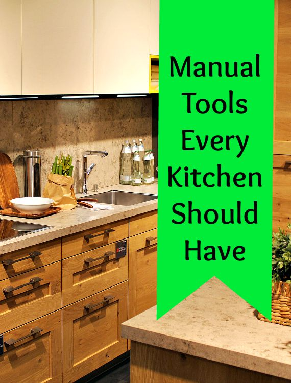 manual kitchen tools