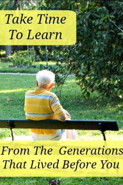 Lessons Learned from the Greatest Generation