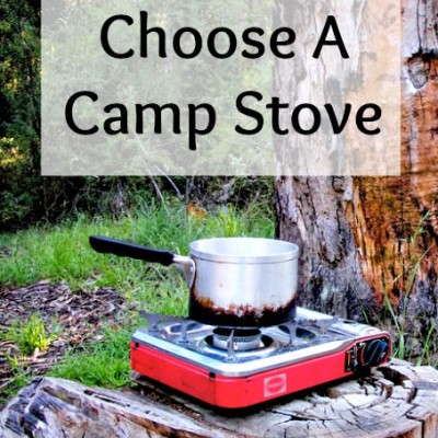 How To Choose a Camp Stove for Your Emergency Preparedness Kit
