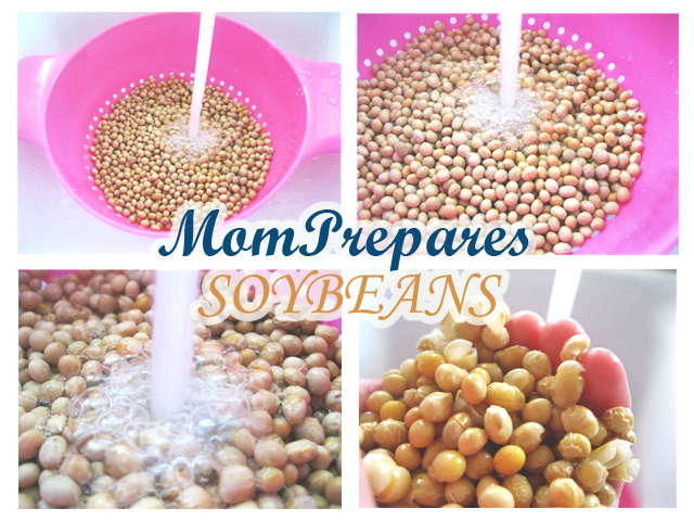 Rehydrating and Using Dried Soybeans in Meals
