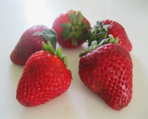 Fresh, Juicy Strawberries