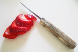 A lovely Sliced Strawberry -  Image K.S.