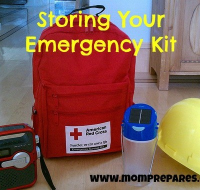 Storing Your Emergency Kit: Location, Location, Location