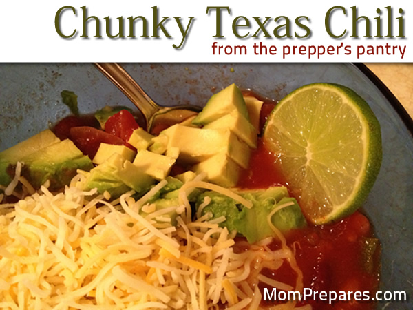 Chunky Texas Chili Recipe