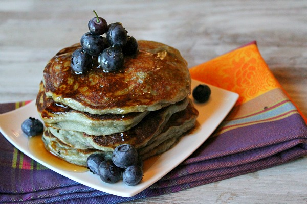 Greek Yogurt Pancakes - Image Credit: Recipe Girl