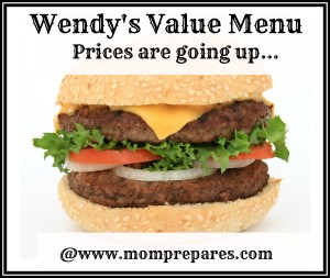 Wendy's Value Menu:Price inflation - image by lockstockb cover design by KS