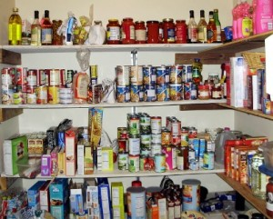 Decluttering helps you create space for pantry essentials. Photo: mullica / CC by 2.0