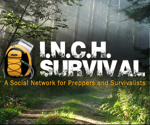 INCH Survival, the new prepper website for preppers - from amateurs to pros. Image courtesy of INCHSurvival.com