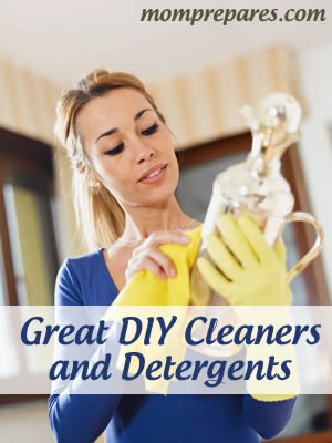 Great Homemade Cleaners and Detergents