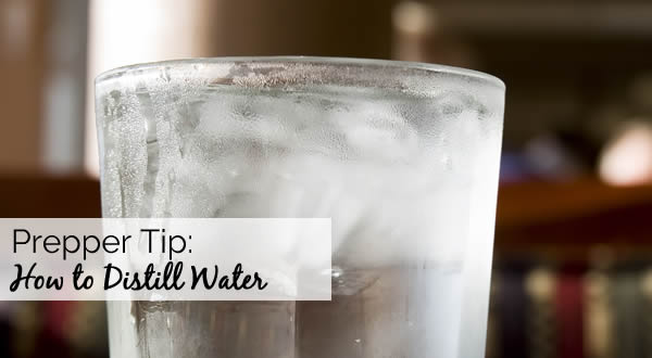 Prepper Tip: How to Distill Water