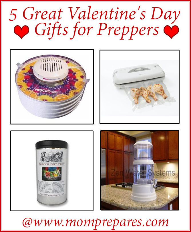 5 Valentine's Day Gifts for Preppers