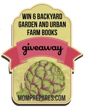 Backyard Farm and Garden Books Giveaway – Win 6 Books!