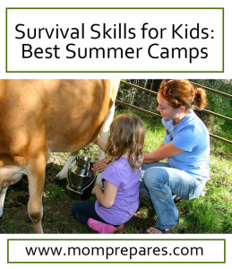 Summer camp is an opportunity for kids to learn new things - including survival skills! Photo: cheeseslave / CC by 2.0