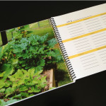 Garden Journal Page with Photo