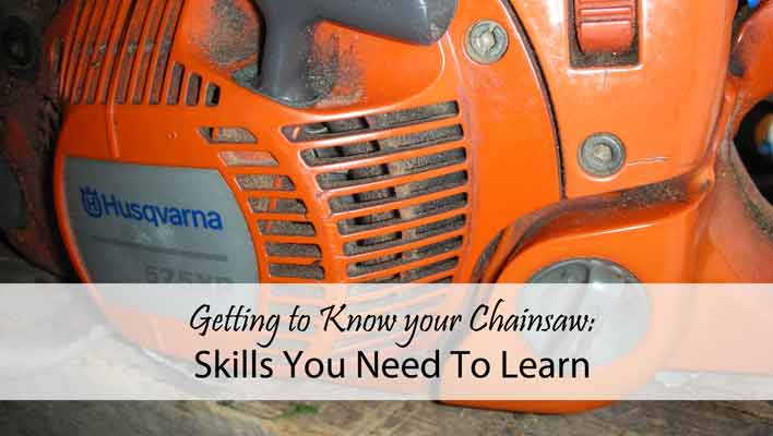 Getting to Know your Chainsaw: Skills You Need To Learn