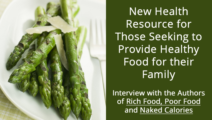New Health Resource for Preppers and Others Seeking to Provide Healthy Food for their Family: Interview with the Authors