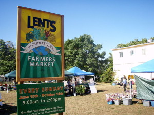 A Farmer's Market is the perfect place to find local foods