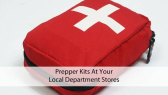 Prepper Kits At Your Local Department Stores