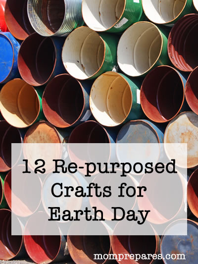 Repurposed Crafts for Earth Day