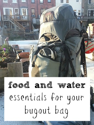 Food and Water: Bug-Out Bag Essentials