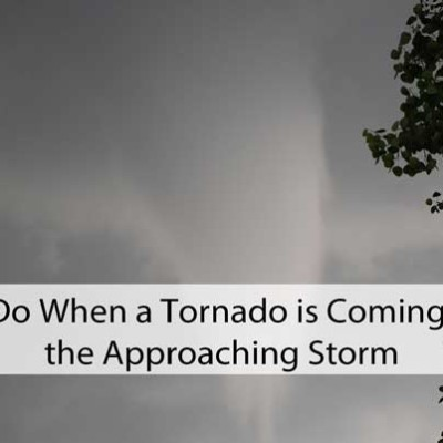 What To Do When a Tornado is Coming: Weather the Approaching Storm