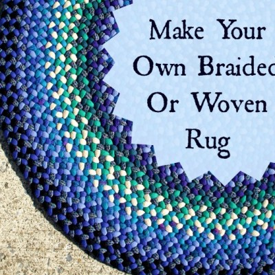 Keep Busy This Winter:  Make Your Own Braided and Woven Rugs