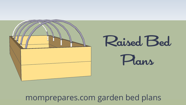 Sign up for the Newsletter and get our FREE Raise Bed Plans!