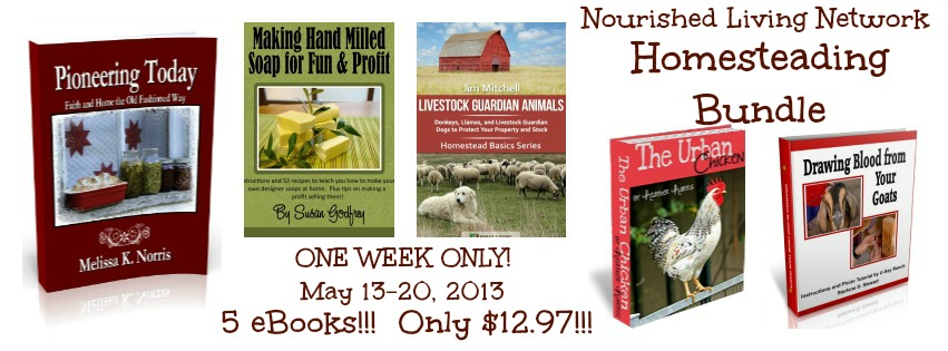 Homesteading Ebook Bundle just $12.97