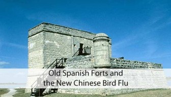 Old Spanish Forts and the New Chinese Bird Flu