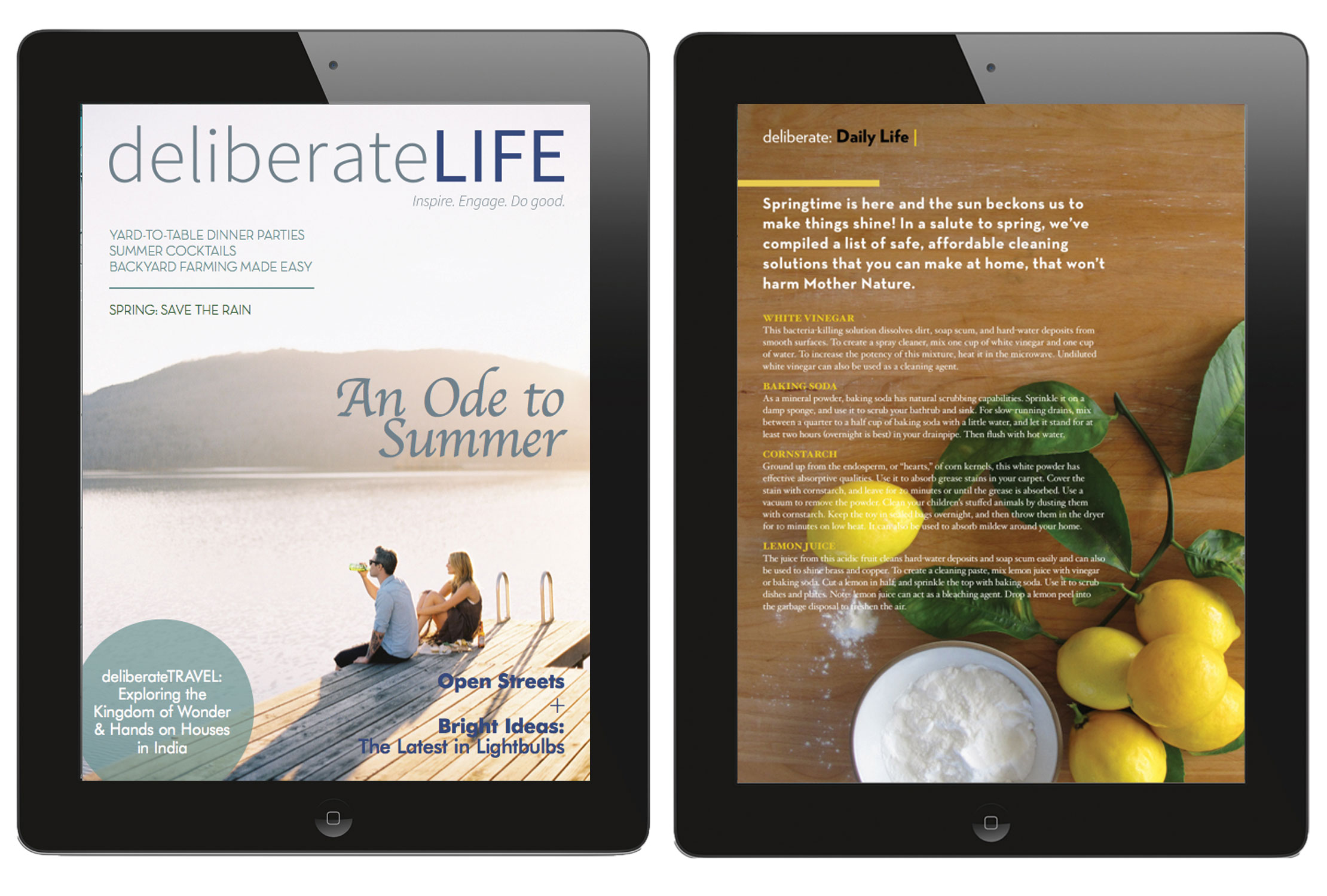 deliberateLIFE – A magazine for the homesteader in all of us.