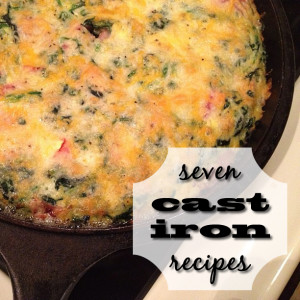 7 cast iron recipes