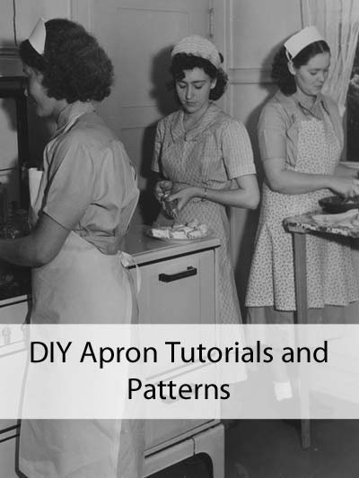 DIY Apron Tutorials and Patterns