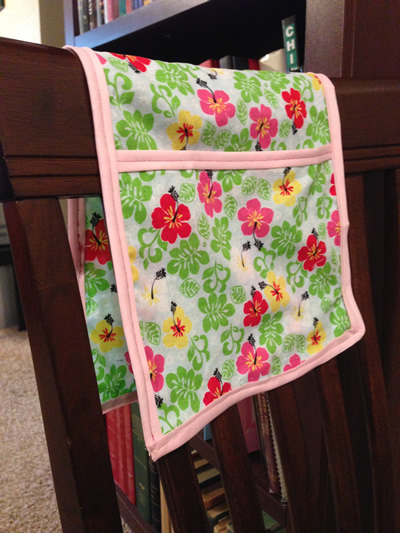 Finished Clothespin Bag