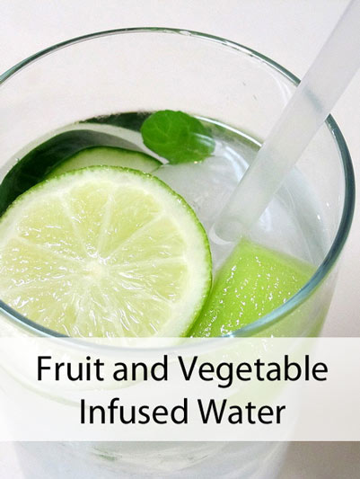 Our own infused water recipies were a hit with ages kid to adult! Image Credit: I Believe I can Fry