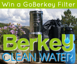 Giveaway! Go Berkey Filter System and Outdoor Adventure Bundle
