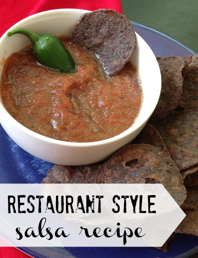 Easy Restaurant Style Salsa Recipe