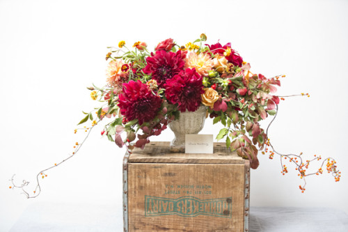 How to Create a Fall Table Arrangement