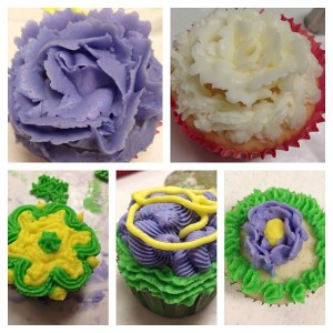 Student Decorated Cupcakes
