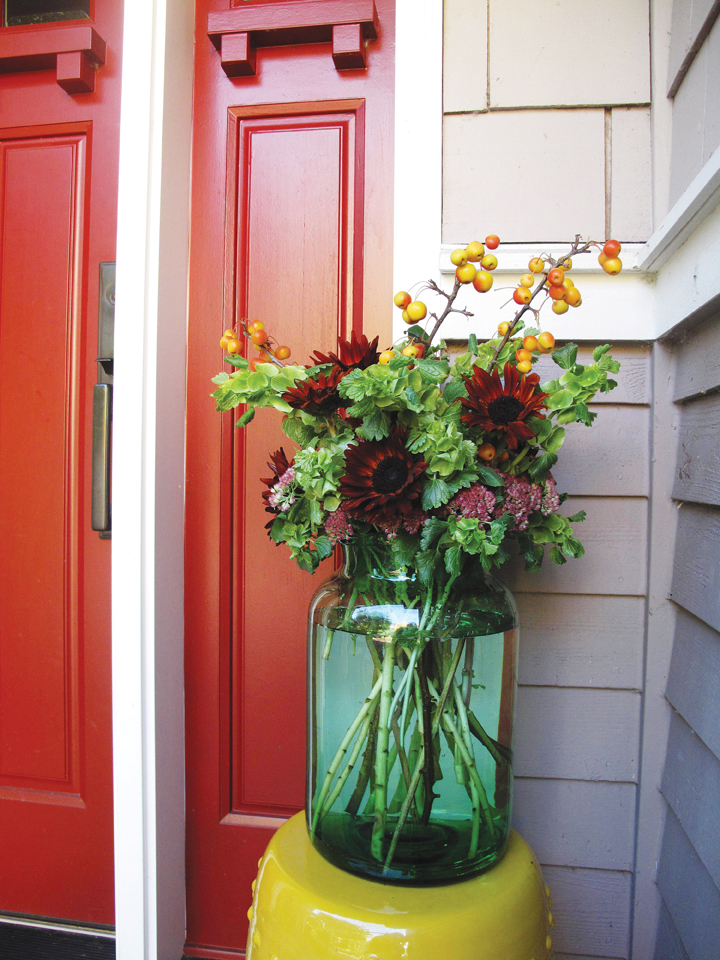 Fall Front Door Design