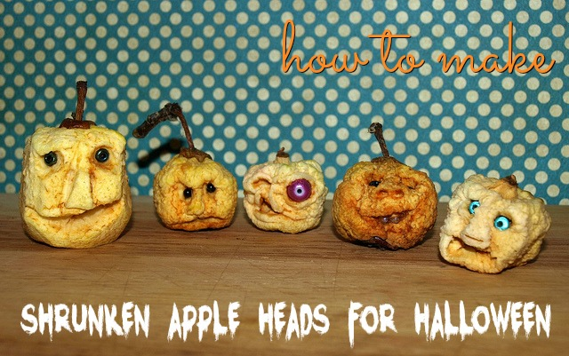 How to Make Shrunken Apple Heads