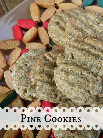 Pine Cookie Recipe