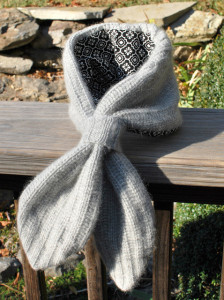 Re-purposed Sweater Scarf