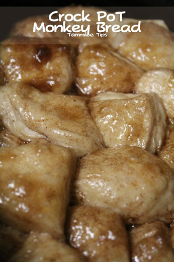 Crock Pot Monkey Bread from Tammilee Tips