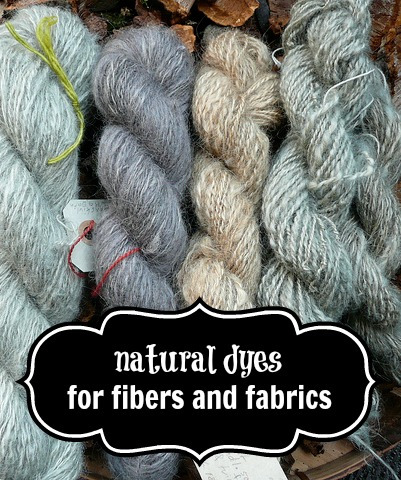 Natural Dyes for Fibers and Fabrics