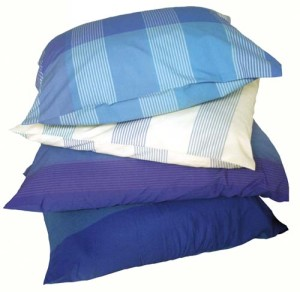 pillowcases blue