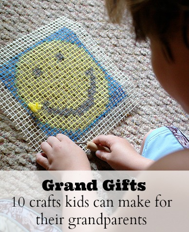 Grand Gifts: 10 Crafts Kids can Make for Their Grandparents